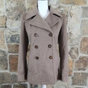 Calvin Klein 2 Wool Blend Pea Coat